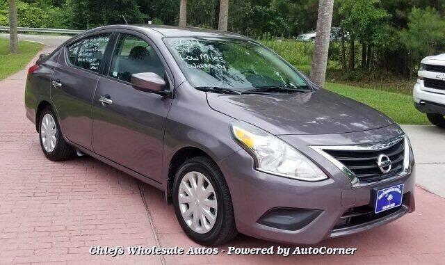 2019 Nissan Versa for sale at Special Finance of Charleston LLC in Moncks Corner SC