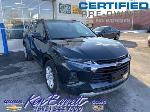 2019 Chevrolet Blazer for sale at KEN BARRETT CHEVROLET CADILLAC in Batavia NY