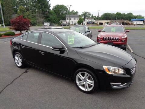 2014 Volvo S60 for sale at BETTER BUYS AUTO INC in East Windsor CT