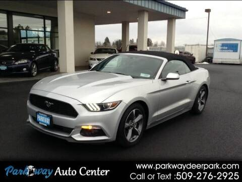 2016 Ford Mustang for sale at PARKWAY AUTO CENTER AND RV in Deer Park WA