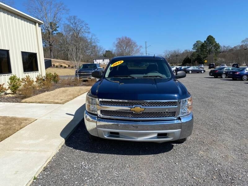 2012 Chevrolet Silverado 1500 for sale at B & B AUTO SALES INC in Odenville AL