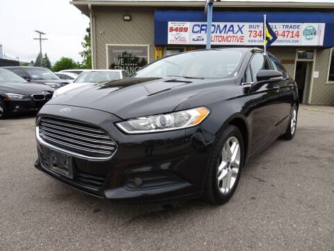 2013 Ford Fusion for sale at Cromax Automotive in Ann Arbor MI