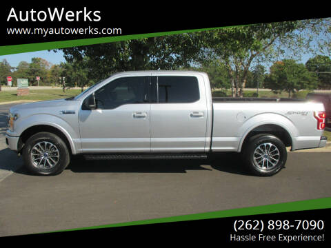 2018 Ford F-150 for sale at AutoWerks in Sturtevant WI