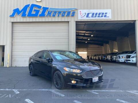 2015 Ford Fusion for sale at MGI Motors in Sacramento CA