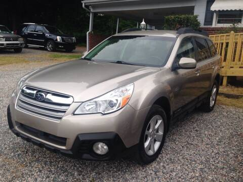 2014 Subaru Outback for sale at Venable & Son Auto Sales in Walnut Cove NC