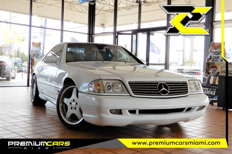 2002 Mercedes-Benz SL-Class for sale at Premium Cars of Miami in Miami FL