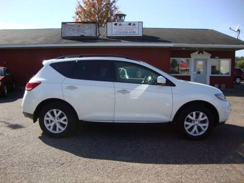 2012 Nissan Murano for sale at G and G AUTO SALES in Merrill WI