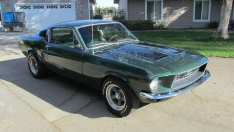 1968 Ford Mustang for sale at Classic Car Deals in Cadillac MI