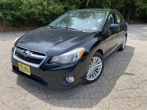 2013 Subaru Impreza for sale at Granite Auto Sales in Spofford NH