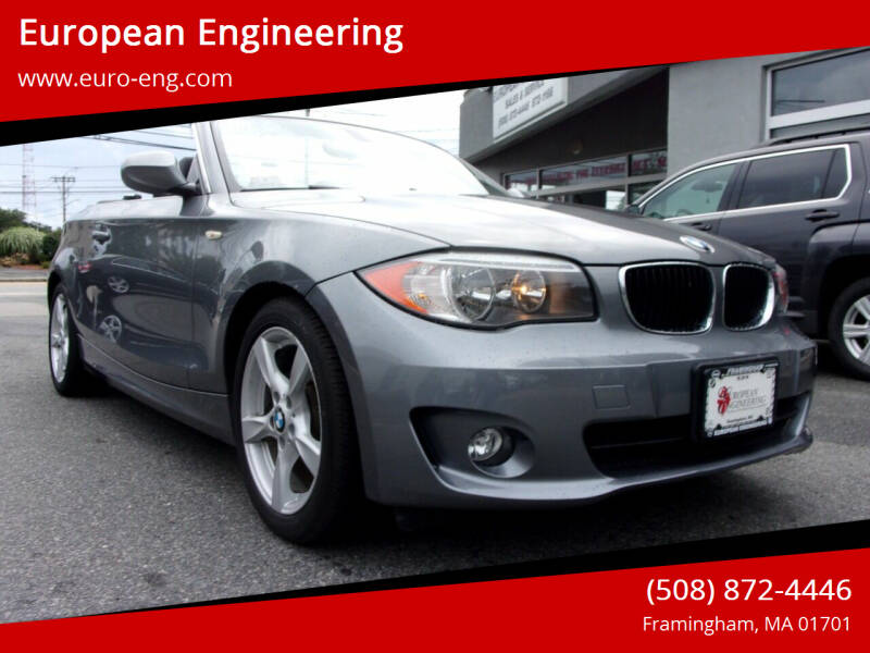 2013 BMW 1 Series for sale at European Engineering in Framingham MA