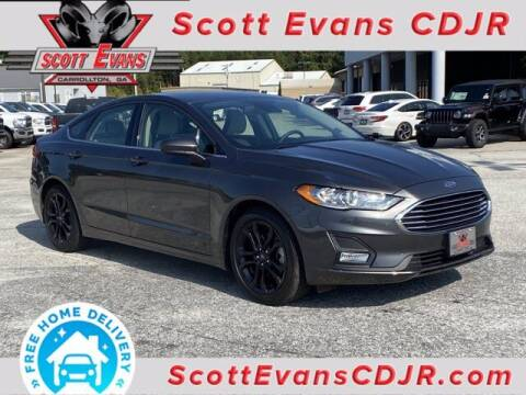 2019 Ford Fusion for sale at SCOTT EVANS CHRYSLER DODGE in Carrollton GA