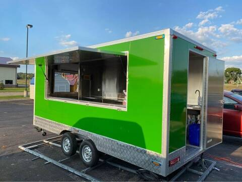 2021 Concession Trailer 15 Foot Long for sale at Cannon Falls Auto Sales in Cannon Falls MN