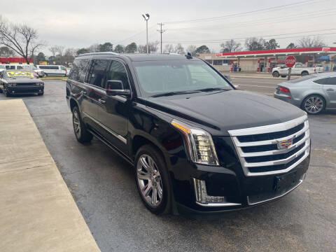 2015 Cadillac Escalade ESV for sale at City to City Auto Sales in Richmond VA
