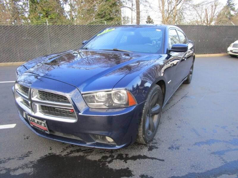 2014 Dodge Charger for sale at LULAY'S CAR CONNECTION in Salem OR