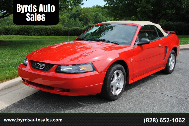 2003 Ford Mustang for sale at Byrds Auto Sales in Marion NC