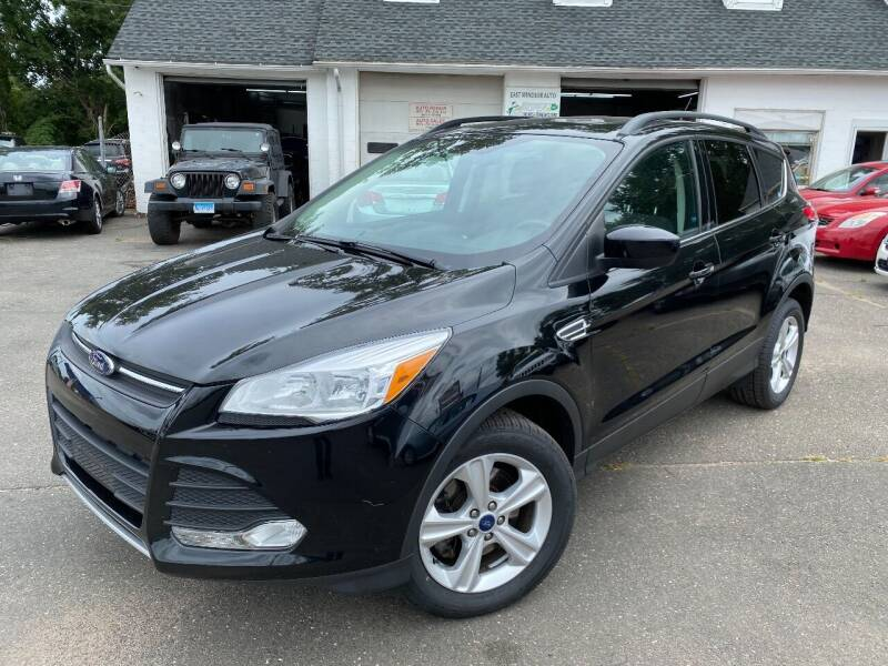 2016 Ford Escape for sale at East Windsor Auto in East Windsor CT