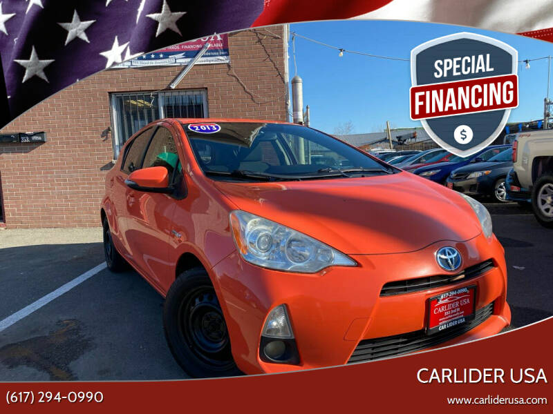 2013 Toyota Prius c for sale at Carlider USA in Everett MA