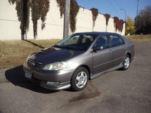 2003 Toyota Corolla for sale at Metro Motor Sales in Minneapolis MN