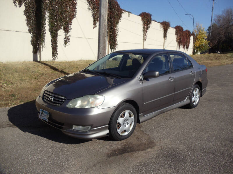 2003 Toyota Corolla for sale at Metro Motor Sales in Minneapolis MN
