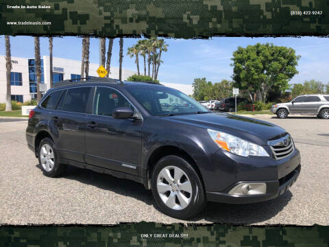 2012 Subaru Outback for sale at Trade In Auto Sales in Van Nuys CA
