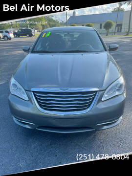 2013 Chrysler 200 for sale at Bel Air Motors in Mobile AL