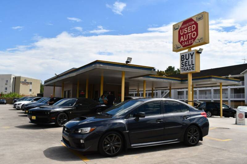2017 Subaru WRX for sale at Houston Used Auto Sales in Houston TX
