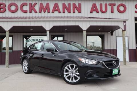 2017 Mazda MAZDA6 for sale at Bockmann Auto Sales in St. Paul NE