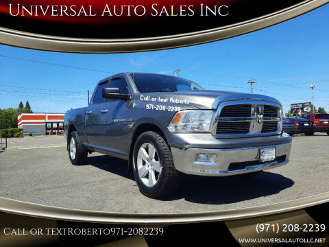 2011 RAM Ram Pickup 1500 for sale at Universal Auto Sales Inc in Salem OR
