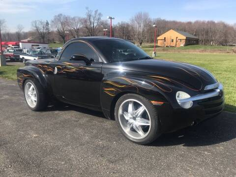 2004 Chevrolet SSR for sale at FIREBALL MOTORS LLC in Lowellville OH