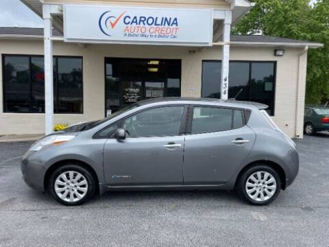 2014 Nissan LEAF for sale at Carolina Auto Credit in Youngsville NC