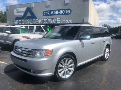 2012 Ford Flex for sale at Sedo Automotive in Davison MI