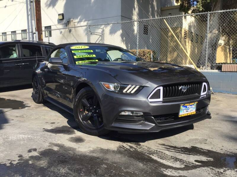 2015 Ford Mustang for sale at LA PLAYITA AUTO SALES INC - 3271 E. Firestone Blvd Lot in South Gate CA