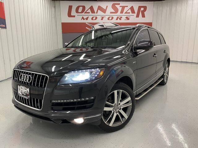 2015 Audi Q7 for sale at Loan Star Motors in Humble TX