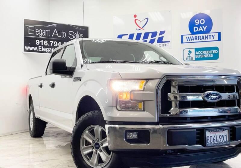 2015 Ford F-150 for sale at Elegant Auto Sales in Rancho Cordova CA