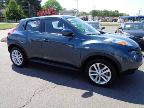 2013 Nissan JUKE for sale at BETTER BUYS AUTO INC in East Windsor CT