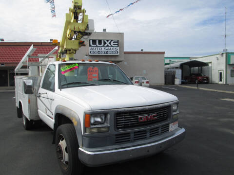 1998 GMC Sierra 3500 for sale at Luxe Auto Sales in Modesto CA