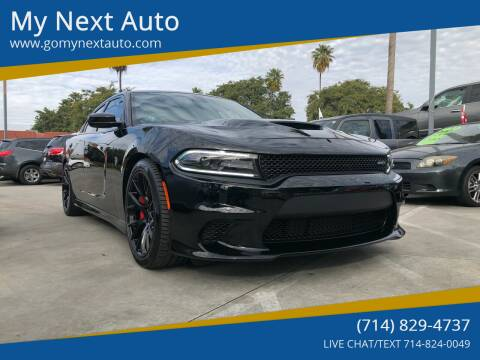 2016 Dodge Charger for sale at My Next Auto in Anaheim CA
