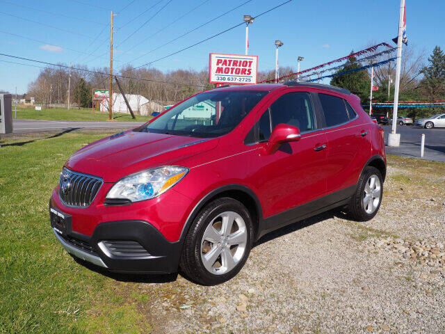 2016 Buick Encore for sale at Patriot Motors in Cortland OH