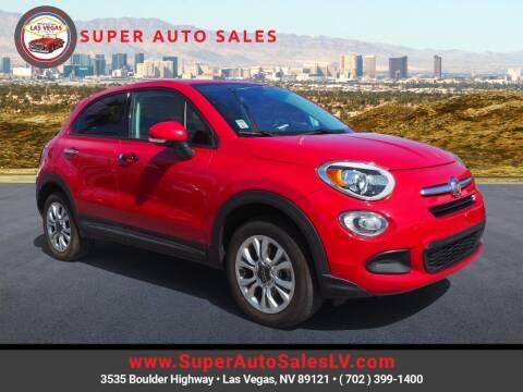 2016 FIAT 500X for sale at Super Auto Sales in Las Vegas NV