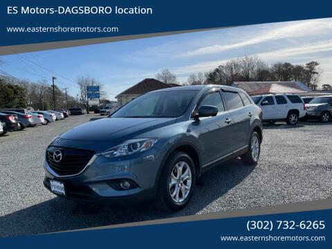 2014 Mazda CX-9 for sale at ES Motors-DAGSBORO location in Dagsboro DE