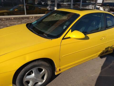 2002 Chevrolet Monte Carlo for sale at Second Chance Auto in Sioux Falls SD
