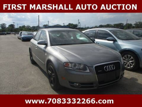 2007 Audi A4 for sale at First Marshall Auto Auction in Harvey IL
