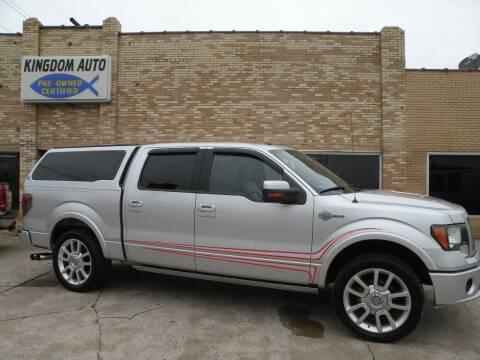 2011 Ford F-150 for sale at Kingdom Auto Centers in Litchfield IL