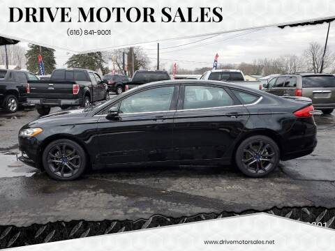 2018 Ford Fusion for sale at Drive Motor Sales in Ionia MI