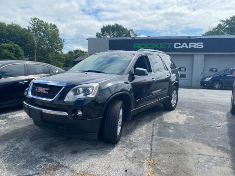 2010 GMC Acadia for sale at Rocket Cars Auto Sales LLC in Des Moines IA