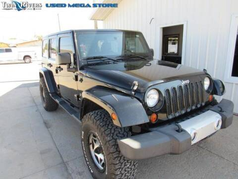 2012 Jeep Wrangler Unlimited for sale at TWIN RIVERS CHRYSLER JEEP DODGE RAM in Beatrice NE