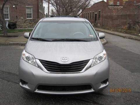 2014 Toyota Sienna for sale at EBN Auto Sales in Lowell MA