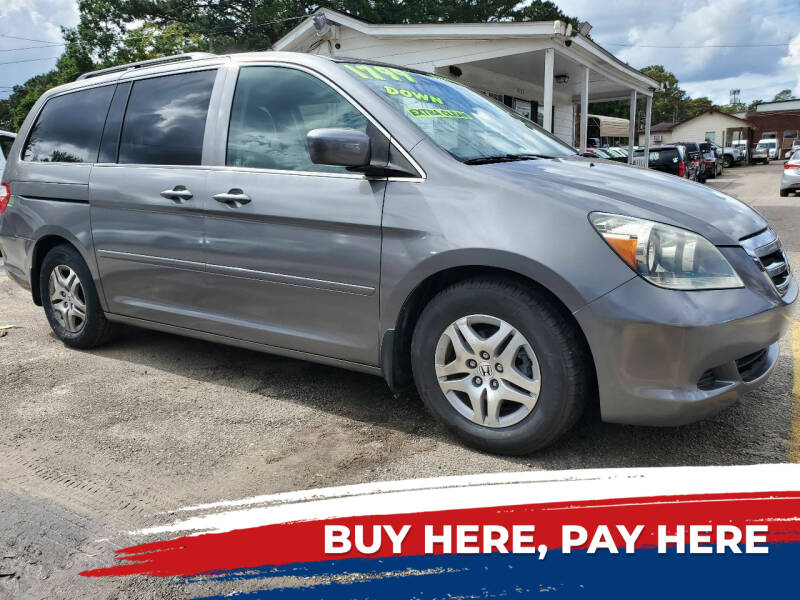 2007 Honda Odyssey for sale at Rodgers Enterprises in North Charleston SC