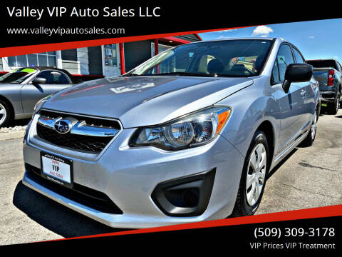 2014 Subaru Impreza for sale at Valley VIP Auto Sales LLC in Spokane Valley WA