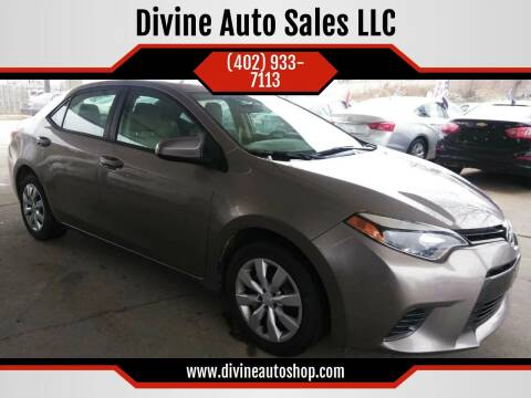 2016 Toyota Corolla for sale at Divine Auto Sales LLC in Omaha NE